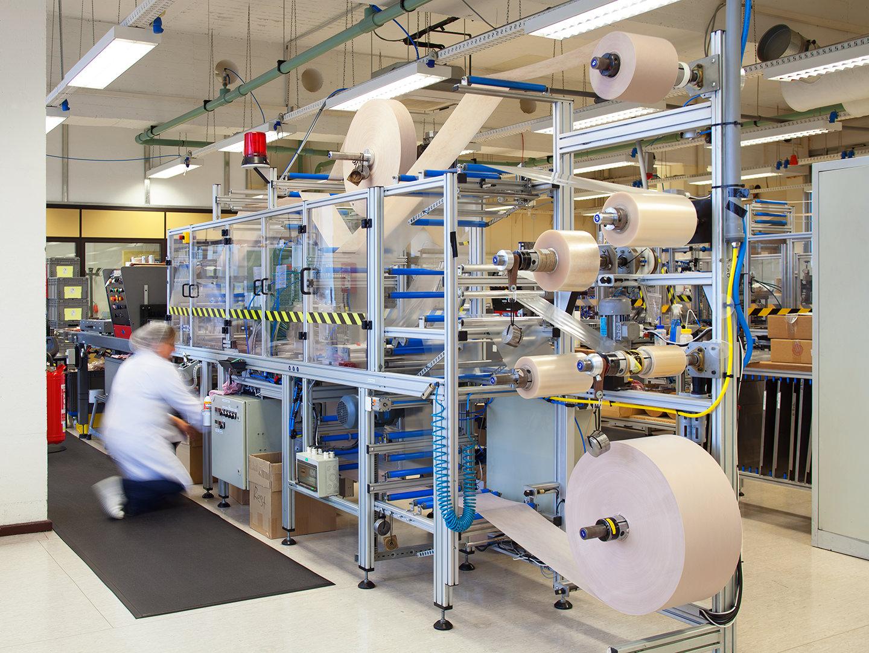 FORLIFE Produktion Maschine