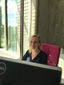 Mitarbeiterin Nadine Flach
